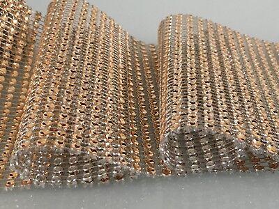 Sparkly Diamond Diamante Effect Ribbon Cake Trim Bridal Sewing Trim Crystal Lace