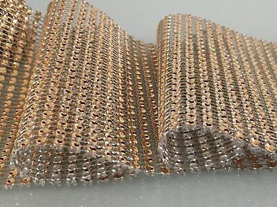 Sparkly Diamond Diamante Effect Ribbon For Cake Bridal Sewing Trim Crystal Lace