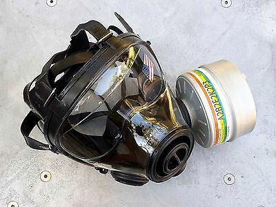 SGE 400/3 Tactical 40mm NATO Gas Mask with NBC-CBRN Filter Exp 09/2023 BRAND NEW 5