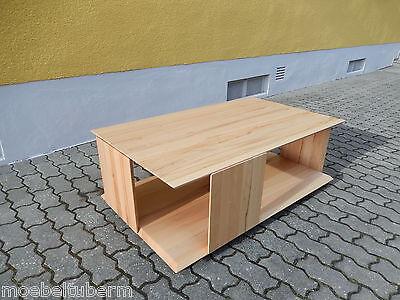 Couchtisch holz design  DESIGN COUCHTISCH KERNBUCHE Massiv Holz Design Tisch Beistelltisch ...