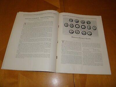 Antiguedades Revista V2 #2 August 1922 Muebles Relojes Textiles Cristalería Art 3