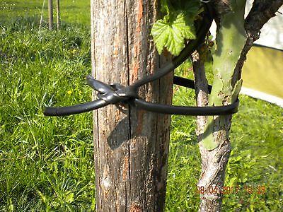 Gemeinsame ELASTO-SCHNUR 4 MM Anbinden von Hecken Sträuchern Baumästen #HR_43