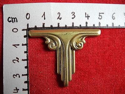 Metallbeschlag Applikation Zierteil  N 64 4