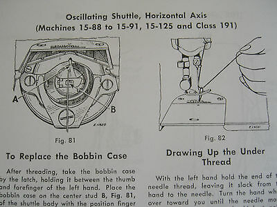 SINGER Teacher's Textbook of Machine Sewing 1957-on CD (PDF file) FREE SHIPPING! 5