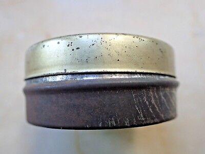 Antike Apotheker Dose Blechdose mit Aufdruck *Zugsalbe* selten 7