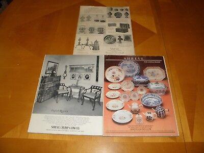 Antiguedades Revista 11/53 4/72 1/84 Muebles Relojes Textiles Cristalería Arte 2