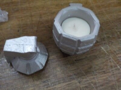 for Him Grenade Jeans Scent Candellana Candles Candlefort Concrete Candle