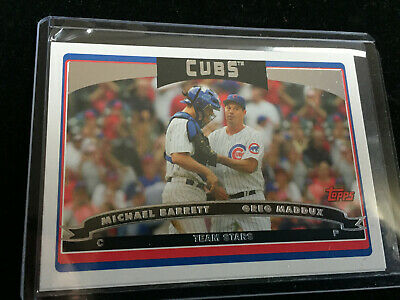 2006 Topps Lot of 27 Chicago Cubs: Maddux, Barrett, GOLD Serial, Rich Hill RC 9