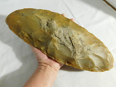 A MASSIVE 3,700 Year Old Neolithic Flint CORE From Grand Pressigny France