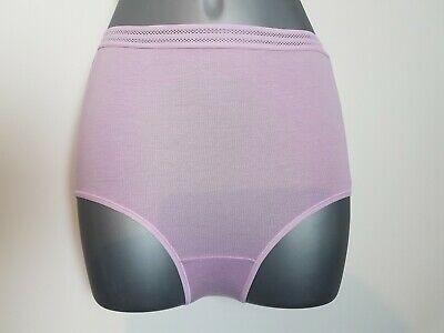 5 PACK Ladies M&S No VPL FULL Knickers Briefs Cotton Pants High Rise Size 6-28 7