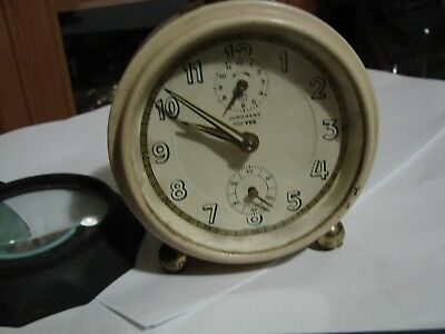 Junghans Vintage Alarm Clock Art Deco 6