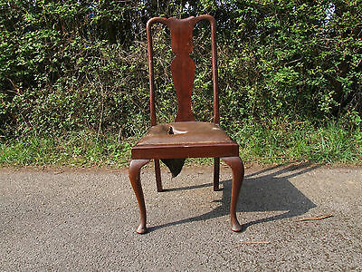 single upholstered wooden  chair 3