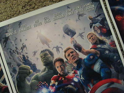 "Avengers -  (11"" x 17"") Movie Collector's Poster Prints (Set of 3) 7"