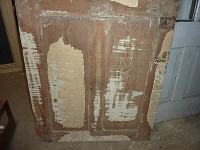"""LATE 18th century ANTIQUE colonial FOUR panel DOOR paint PATINA 78 x 35"""" x 1.25 4"""