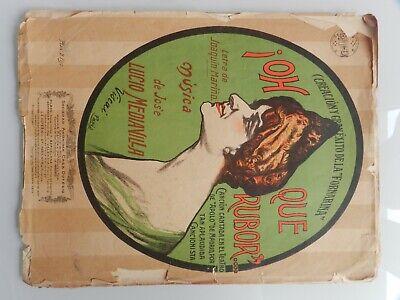 Antiguas Partituras Musicales 1914 2