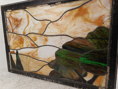 Vintage Stained Glass Window (3158)NJ 5