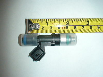 Genuine Bosch EV14 60lb 630cc fuel injector with EV1 adapter clip
