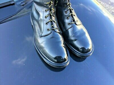 Dr Martens 1460 black leather boots UK 10 EU 45 Made in England 4