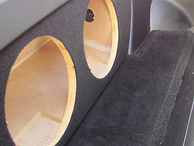 """Sub Box 1-10/""""  Nice! FRONT FIRE w// Z LOGO Subwoofer Box for Nissan 350z Coupe"""