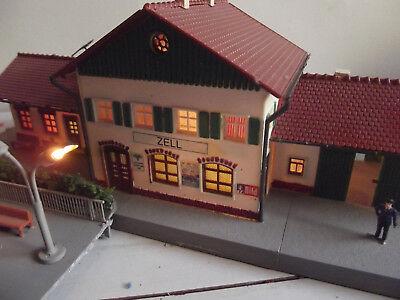 Weitere Hinweisschilder Marke Kibri Bahnsteig Richtungsanzeiger Bahnhof