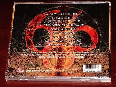 Onslaught: VI CD 2013 Six 6 AFM Records Germany AFM 444-2 NEW 2