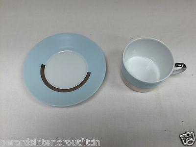 BERNARDAUD Fusion Color Tea Cup /& Saucer Set