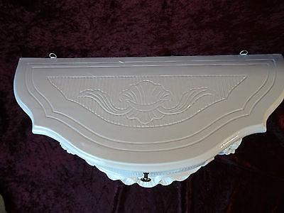 Wall Console Antique/Spiegelkonsolen/Baroque White High Gloss B: 50cm cp84 11
