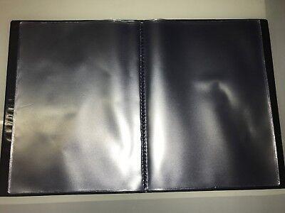 Guest Information  Pvc Folder 7 A4 Double Pockets Ref Black/Gold 3