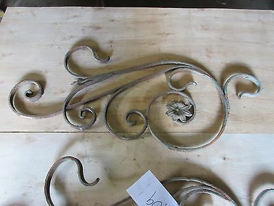 Antique Victorian Iron Gate Window Garden Fence Architectural Salvage #909 3