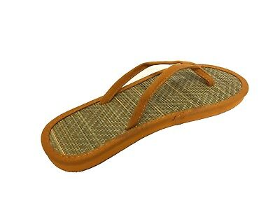 12x Womens Ladies Bamboo Beach Flip Flops Job Lot Casual Summer Slippers Shoes 2