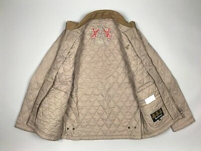 Barbour Men's Lakeside Quilted Casual Jacket Beige S M Medium