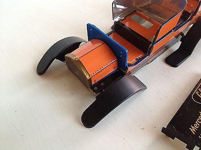 2 x Original Schuco Litho Blech tafel Blechspielzeug Oldtimer 18 26 x 54  cm