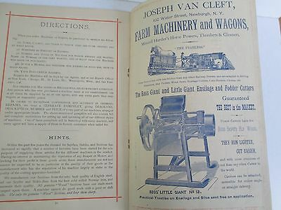 1885 WALTER A WOOD Mowing & Reaping Machine Co Annual Circular, Illustrated