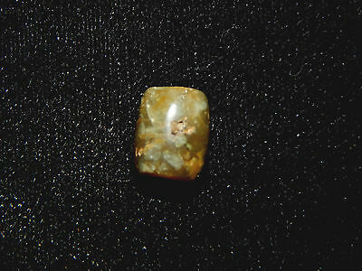 Pre-Columbian Green Jade Pendant Bead,  Translucent Jade