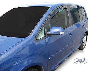 VW TOURAN  2003 - 2015  Deflecteurs d'air Déflecteurs de vent 4pcs 3