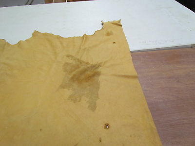 """Moose Hide Native American Dark Commercial Tanned Hide Soft 36"""" By 43"""" Small"""
