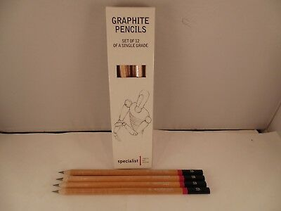 Graphite Pencils Pack of 12 Specialist Crafts - Choose your hardness 2