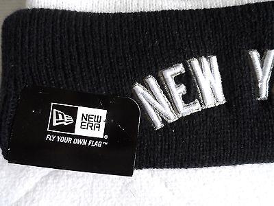 New Era NY NEW YORK YANKEES Bobble Beanie Hat Pompom Toque Pompom Baseball USA