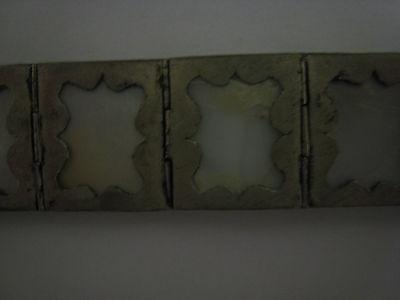ancien bracelet argent et nacre 7