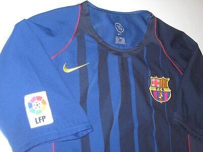 sneakers for cheap cc63a 1cbc1 FC BARCELONA RONALDINHO Away Jersey Trikot Maglia Kit Brazil FCB 2004-2005  Nike