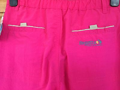Regatta Ladies / Girls Pink Stone Grey Cropped Summer Trousers 5 - 16 Years Bnwt 4