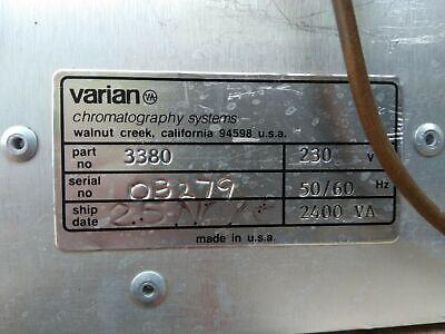 VARIAN CP-3800 Gas Chromatograph 3