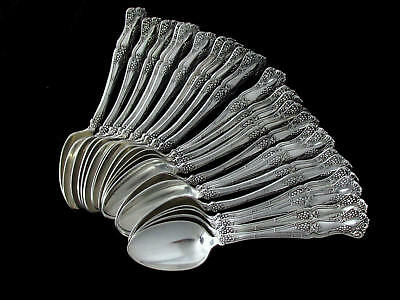 "VINTAGE GRAPE 1847 ROGERS BROS c.1904 DESSERT TEASPOON 6""-SOLD BY PC🥇⭐⭐⭐⭐⭐"