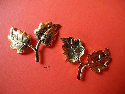 Zierteile Metallbeschläge Blättchen T 16 2
