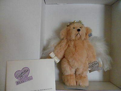 Excellent Cond. Annette Funicello Guardian Angel Bear Numbered W/ Certificate Bears