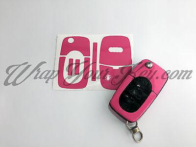 GOLD CARBON FIBER Key Wrap Cover Overlay Audi Remote A1 A2 A3 A4 A5 A6 A8 TT
