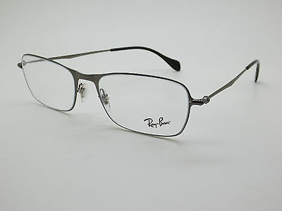 935d044950 1 of 3 NEW Authentic Ray Ban RB 6253 2759 Matte Gunmetal 54mm RX Eyeglasses  w  Case