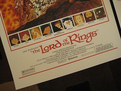 """Lord of the Rings ( 11"""" x 17"""" )  Movie Collector's Poster Prints ( Set of 2 ) 2"""