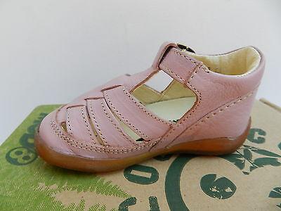 MOD8 Ekoko Sandales Chaussures Fille 20 Ballerines Rose Babies UK4 Child Neuf 9