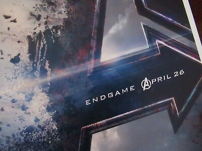 """Avengers -  Endgame ( 11"""" x 17"""" ) Movie Collector's Poster Print - B2G1F 4"""